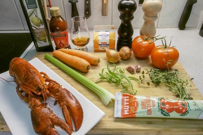 rapukeitto resepti hummeri keitto mutti konjakki touch of taste hummerifondi rakuuna