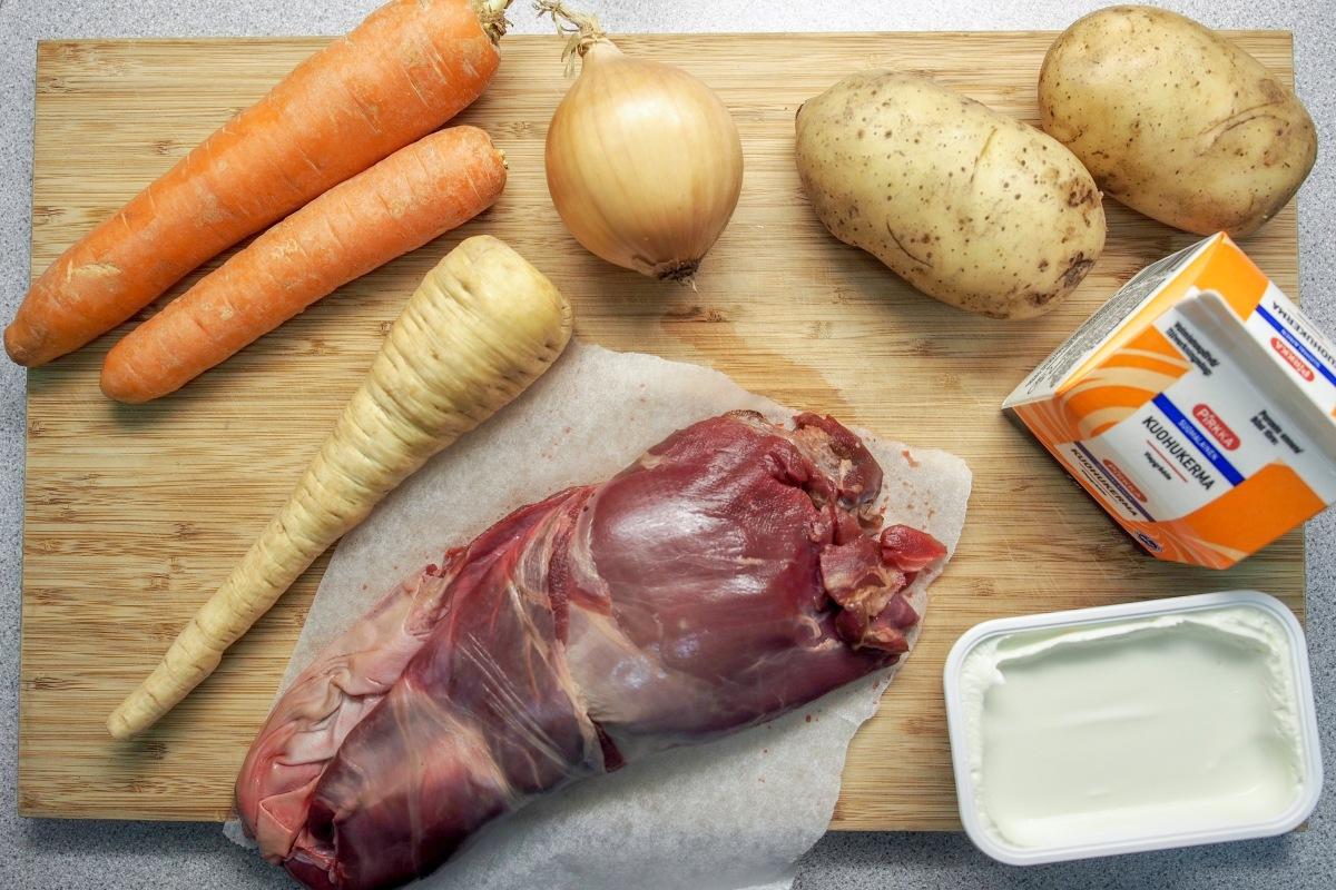 juustoinen porokeitto resepti poro keitto