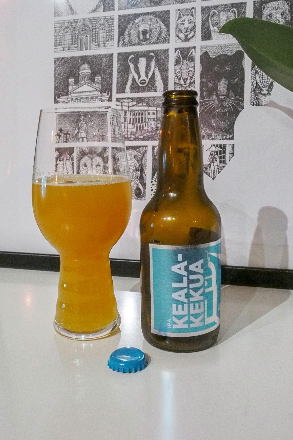Keala-kekua Suomenlinnan Panimo olut NEIPA arvostelu
