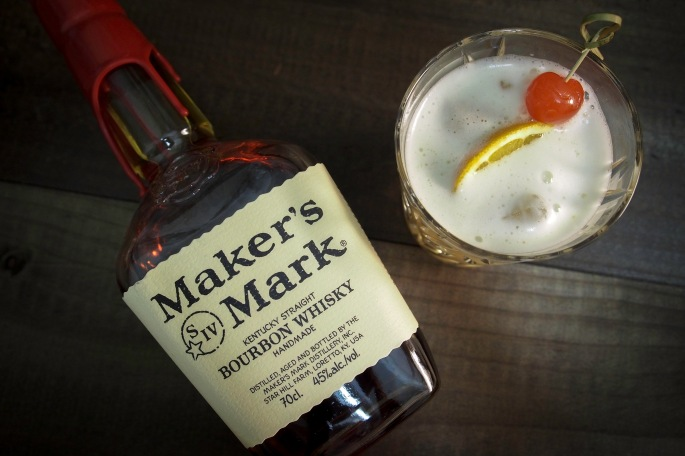 viski whiskey whisky sour resepti drinkki cocktail maker's mark