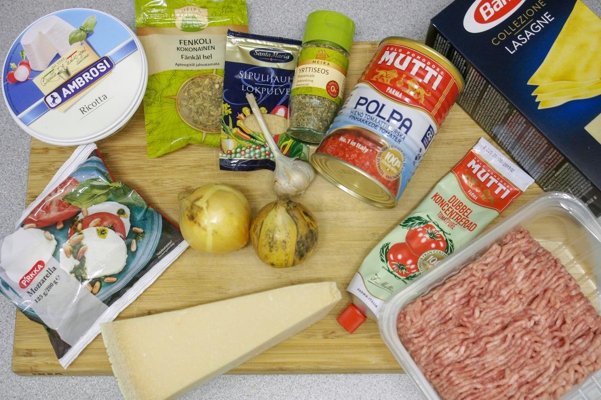Ricotta mozzarella mutti barilla lasagne