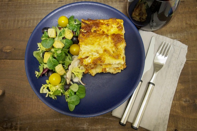 Lasagne resepti ricotta mozzarella