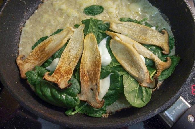 Galettes du sarrasin tattari ohukaiset lettu kasvis täyte kinkku muna Comte juusto kuningas osteri vinokas