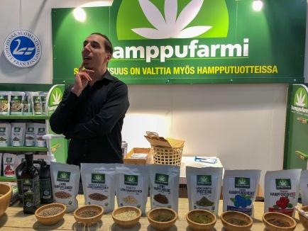 Gastro Helsinki 2018 ruoka ammattilais messut messukeskus hamppu öljy siemen snacks
