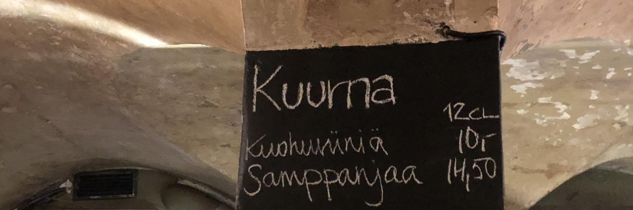 Ravintola-arvostelu kokemuksia Kuurna Helsinki Kruununhaka Meritullinkatu