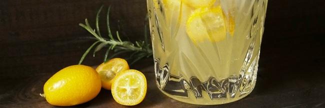 Kumkvatti cocktail drinkki gin gini rosmariini st Germain seljankukkalikööri