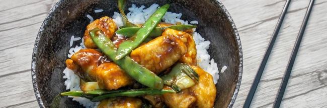 Kiinalainen resepti itse tehty tofu kana paksoi